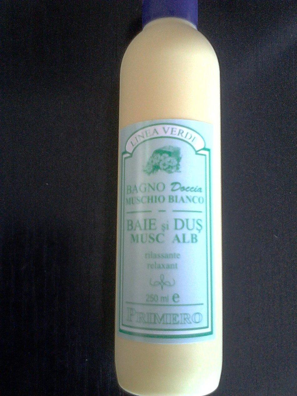 BAGNO DOCCIA (SANDALO/MUSCHIO BIANCO) BAIE SI DUS (SANDALO/MUSC ALB)250 ml