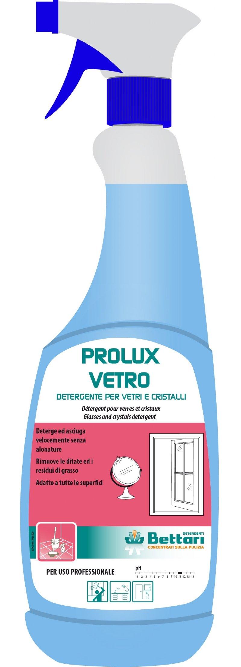 PROLUX VETRO DETERGENT SPECIAL PENTRU GEAMURI