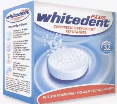WHITEDENT  PLUS COMPRIMATE EFERVESCENTE  PENTRU PROTEZE  DENTARE32/set