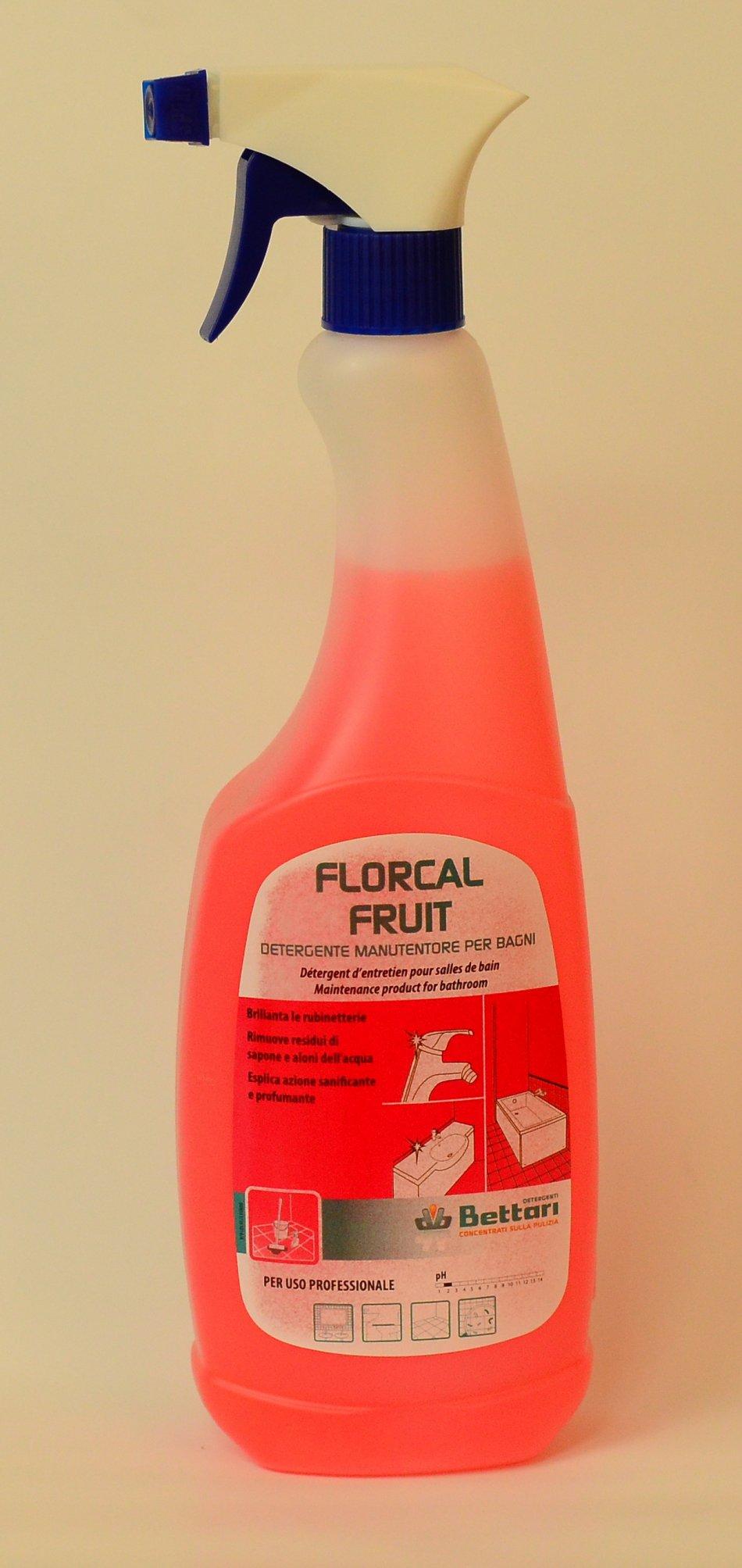 FLORCAL SX / FLORCAL FRUIT DETERGENT DE INTRETINERE PENTRU BAIE