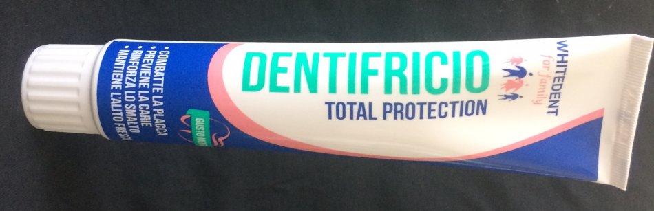 WHITEDENT TOTAL  (pastă de dinţi cu protecţie totală)