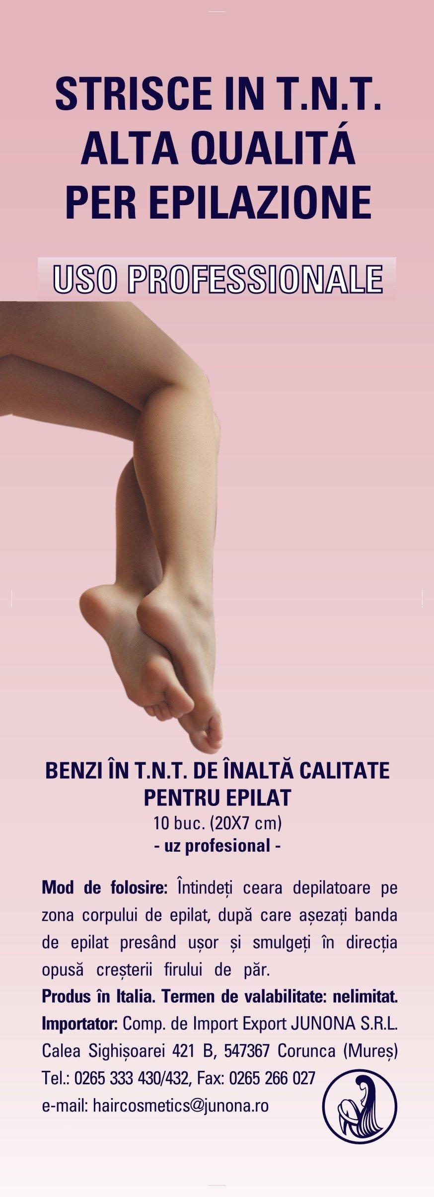 BENZI  PENTRU EPILARE (MATERIAL   TNT ) 10 buc/ set